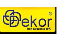 Logo drukarnia DEKOR